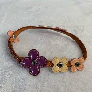 Louis Vuitton Vernis Flower bracelet